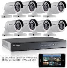Trọn bộ 6 camera HIKVISION 2MB