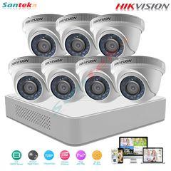 Trọn bộ 7 camera HIKVISION 1MB