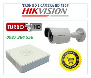 Trọn bộ 1 camera giám sát HIKVISION 1MB