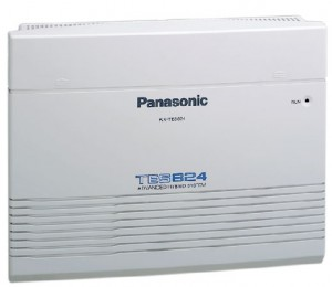 Tổng đài Panasonic KX-TES824 05 line vào-16 máy ra