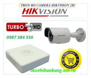 Trọn bộ 1 camera HIKVISION 2MB