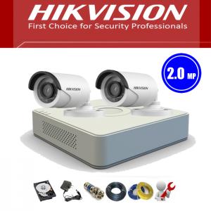 Trọn bộ 2 camera HIKVISION 2MB