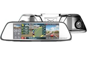 Camera hành trình Vietmap G79 màn hình gương vừa dẫn đường và ghi hình trước sau